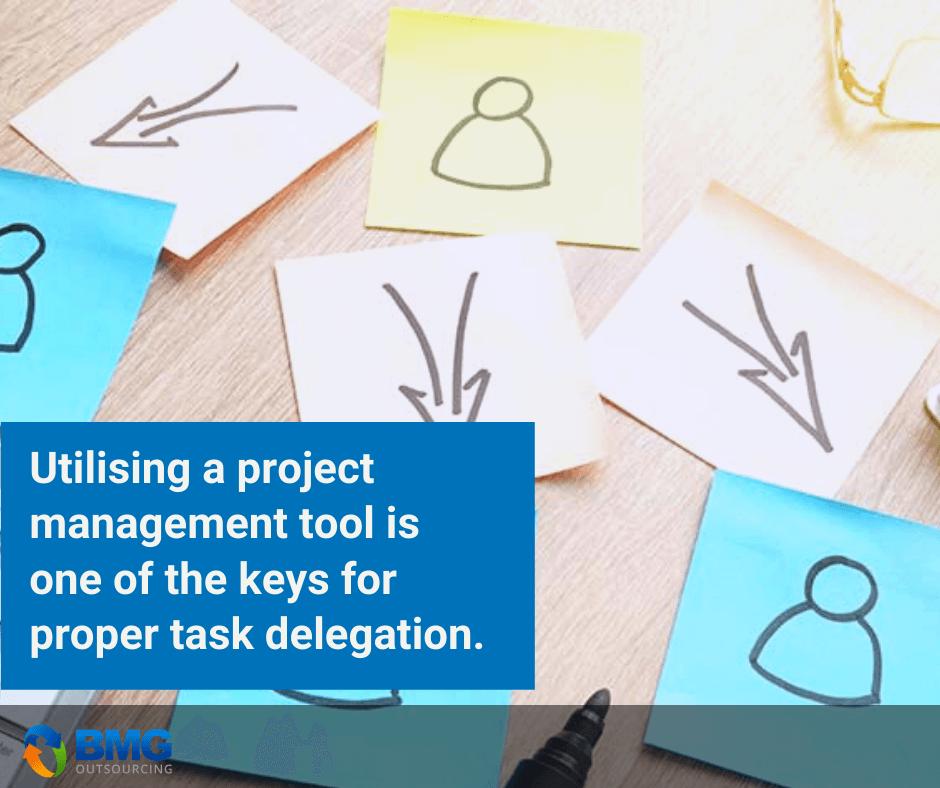 proper task delegation